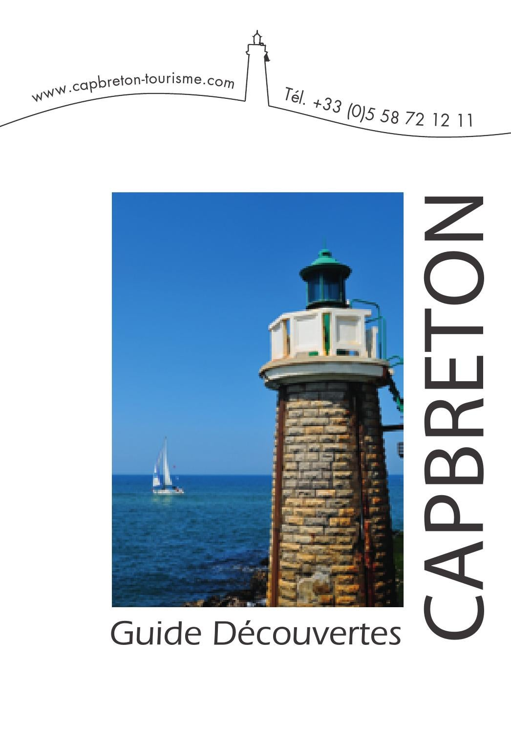 Guide decouvertes 2013 by office de tourisme de capbreton issuu - Office de tourisme cap breton ...