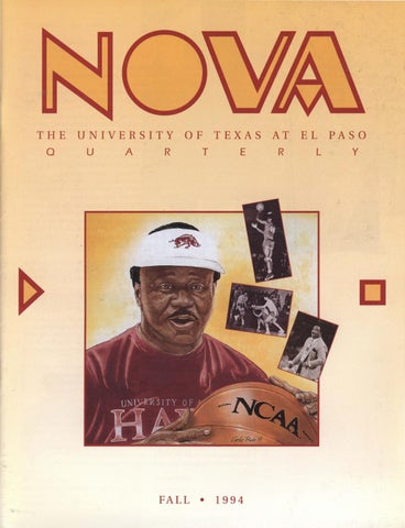 NOVA: University of Texas at El Paso Magazine by UTEP Library - issuu
