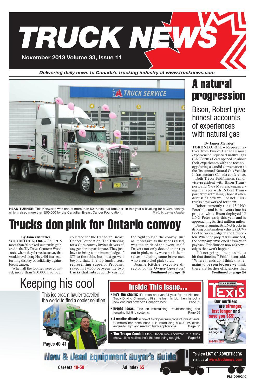 truck news november 2013 by annex newcom lp issuu