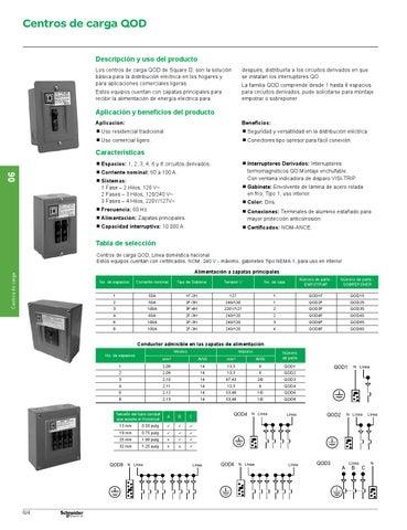 Catalogo square d interruptores termomagneticos