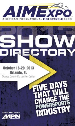 AIMExpo 2013 Show Directory by Babcox Media - issuu 8667b7c91