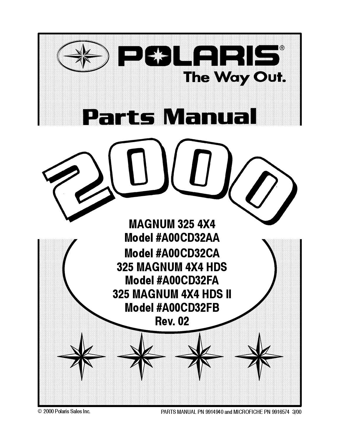 Polaris Ball Bearing PN 3233020