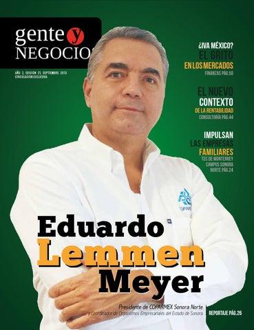 bda1b02e20 Gente y Negocios Edición  21 by Revista Gente y Negocios - issuu