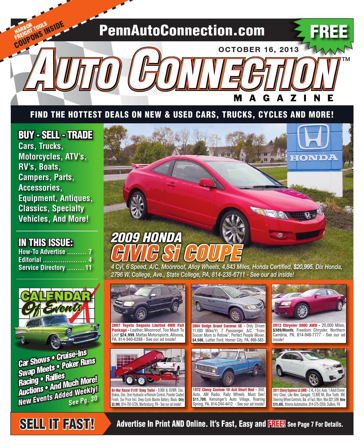 10 16 13 Auto Connection Magazine By Issuu 2006 Ford Econoline Van Club Wagon Wiring Diagram Manual Original