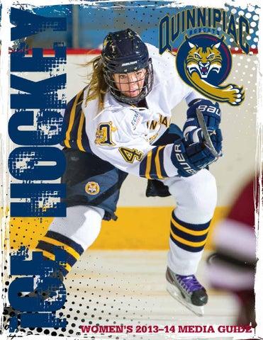 12423914a 2013-14 Quinnipiac Women s Ice Hockey Media Guide by Jack McDonald ...