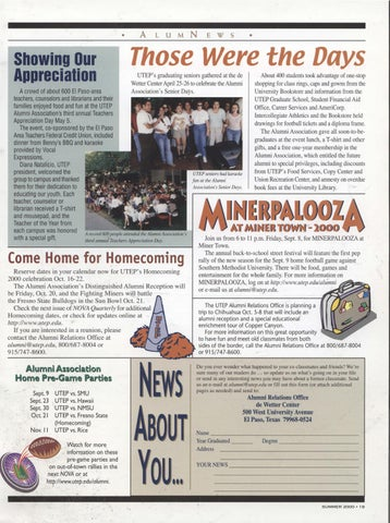 Nova Quarterly: The University of Texas at El Paso by UTEP Library ...