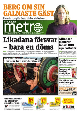 20131017 se stockholm by Metro Sweden - issuu 6f84ff1fa5922