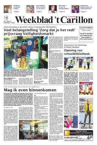 Vliegengordijn De Reijer.Weekblad T Carillon 17 10 2013 By Uitgeverij Em De Jong Issuu