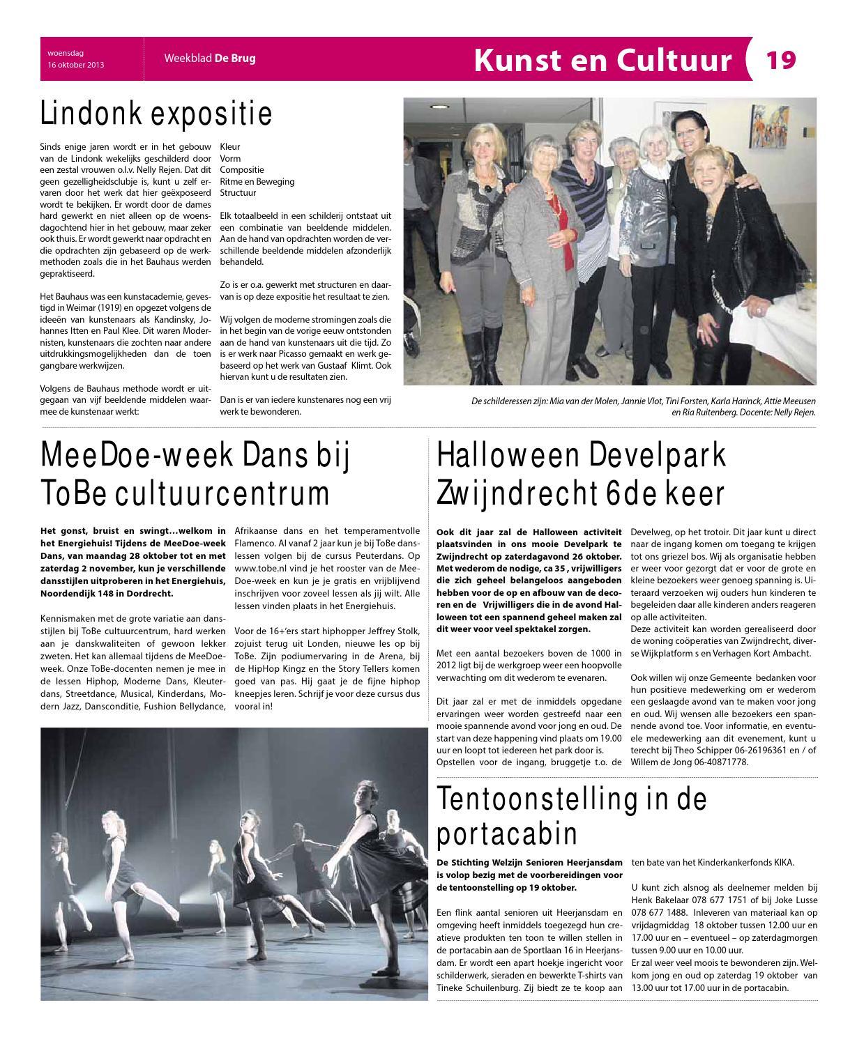 Halloween Zwijndrecht.Weekblad De Brug Week 42 2013 Editie Zwijndrecht By