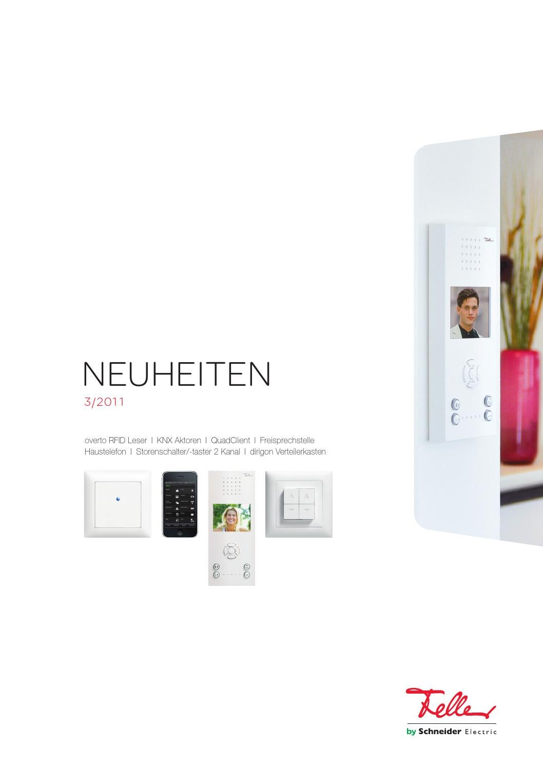 Neuheiten Flyer 03/2011 by Feller AG - issuu