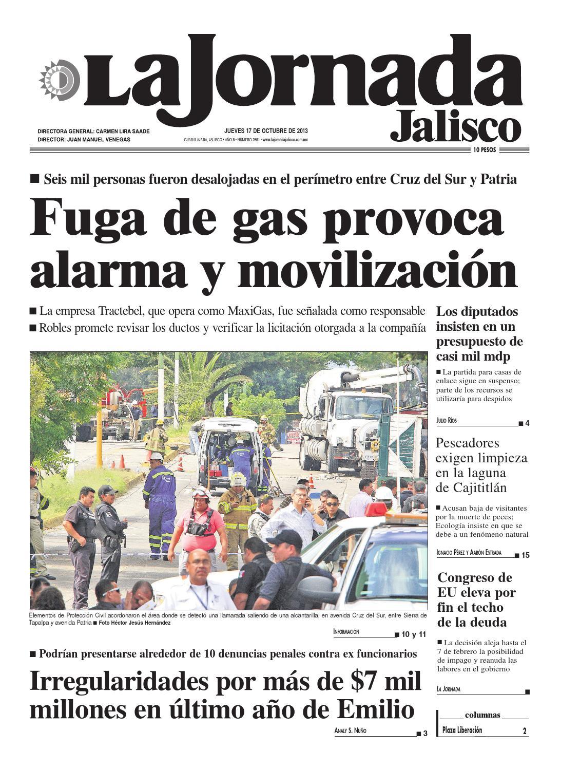 La Jornada Jalisco 17 octubre 2013 by La Jornada Jalisco - issuu