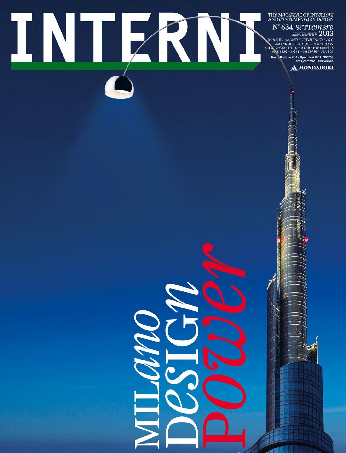 Interni 634 by interni magazine issuu - Riviste design interni ...