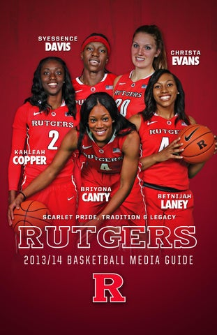 84bfccf78fa 2013-14 Rutgers Women s Basketball Media Guide by Rutgers Athletics ...