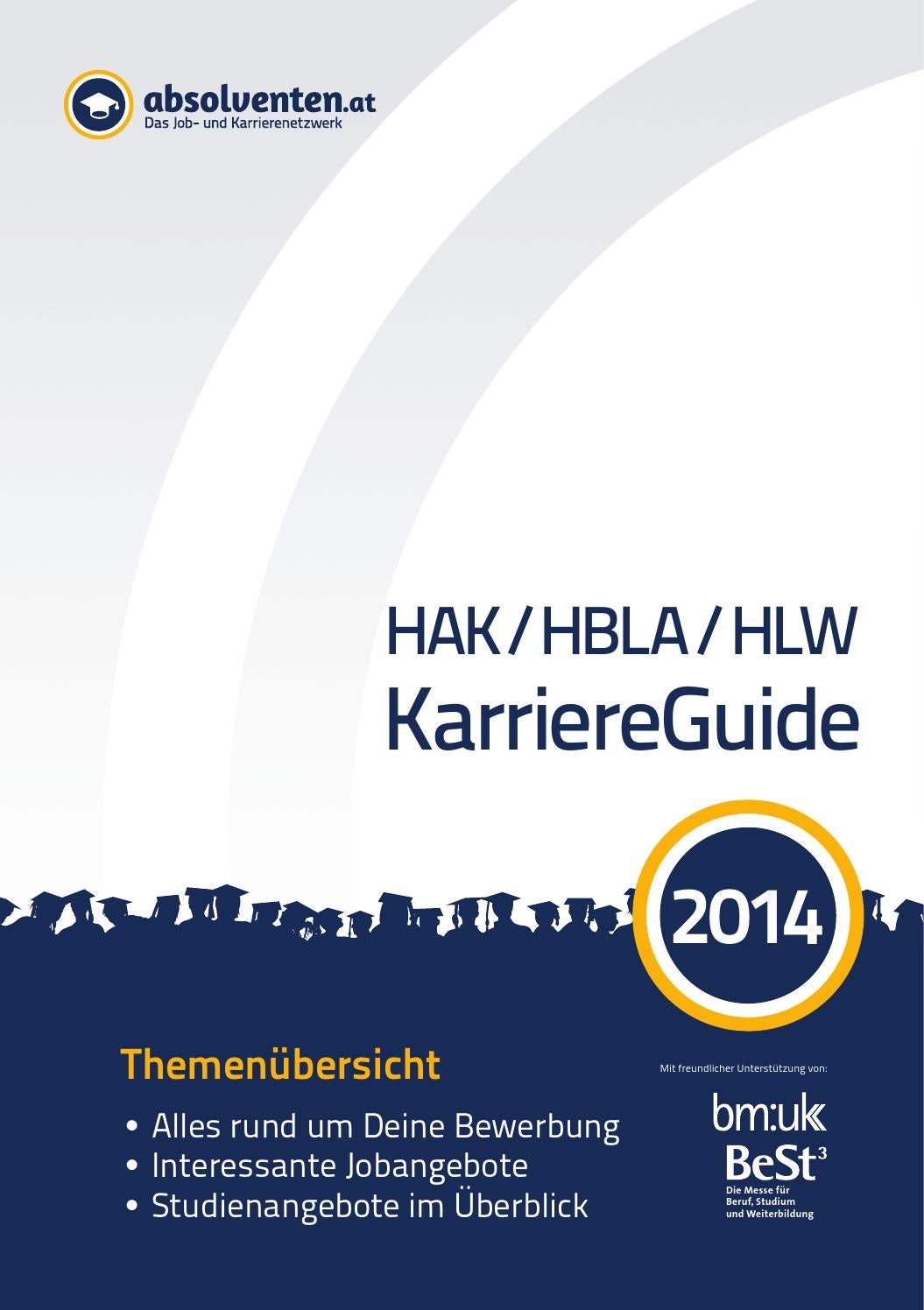 HAK / HBLA / HLW KarriereGuide 2014 by Business Cluster Network GmbH - issuu
