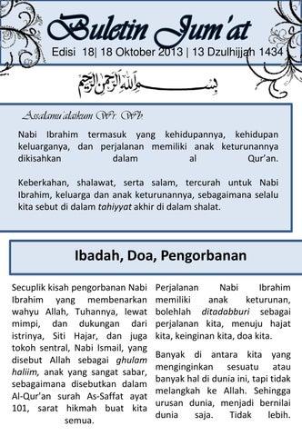 Buletin Jumat Kmi S Edisi 18 By Keluarga Muslim Indonesia