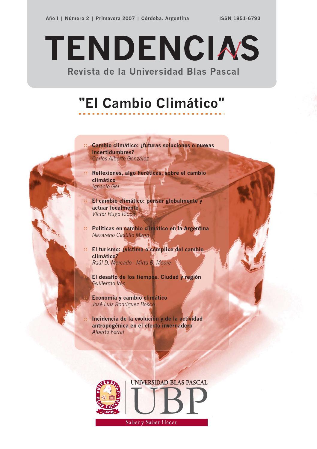 Tendencias Año I – Nº 2 – 2007 by Universidad Blas Pascal - issuu