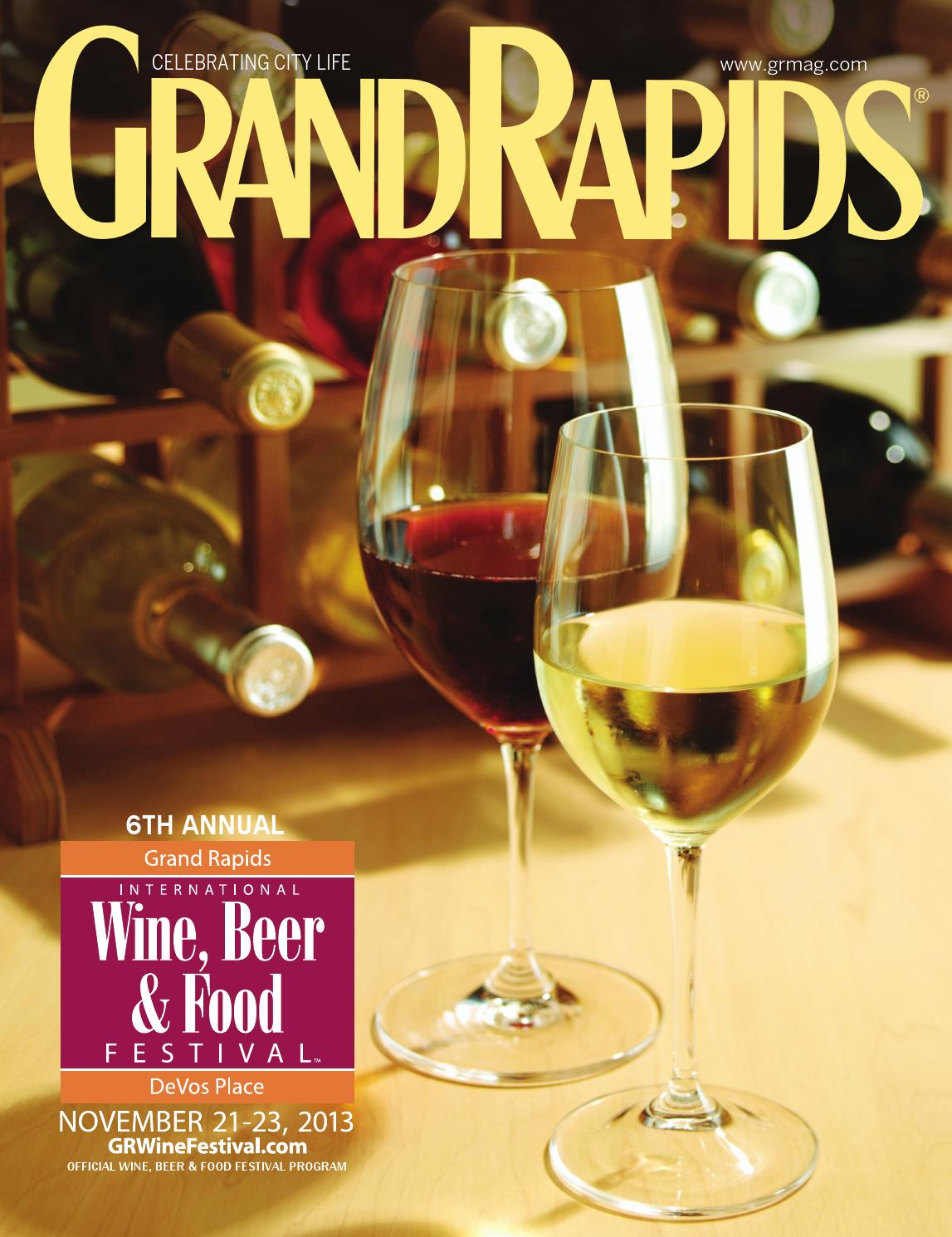 2013 Grand Rapids International Wine, Beer & Food Festival Program ...