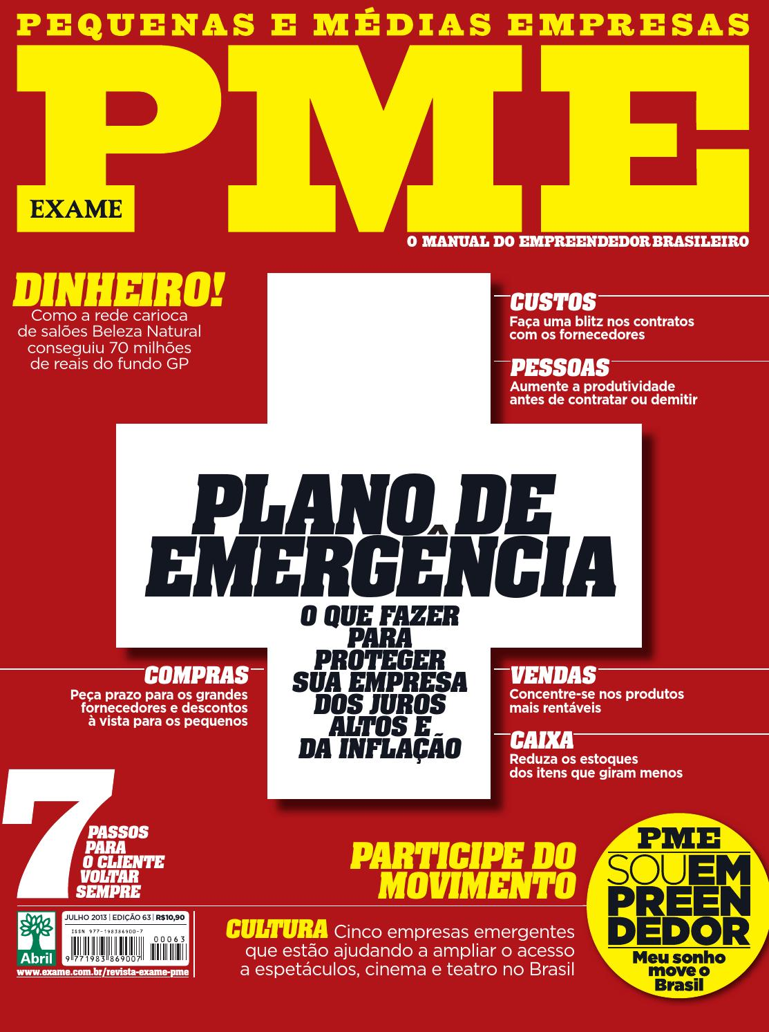 66388d4968454 EXAME PME 63 by Revista EXAME - issuu