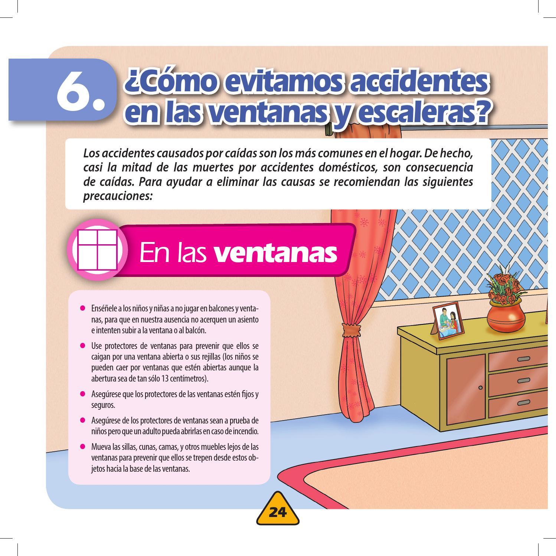 Consejos para prevenir y evitar accidentes y peligros a los ni os by instituto colombiano de - Protectores chimeneas para ninos ...
