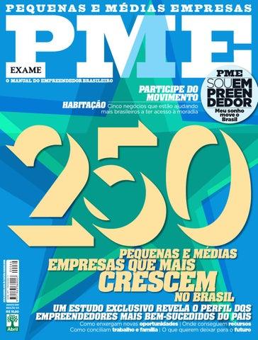 ec6cc8e686f EXAME PME 64 by Revista EXAME - issuu