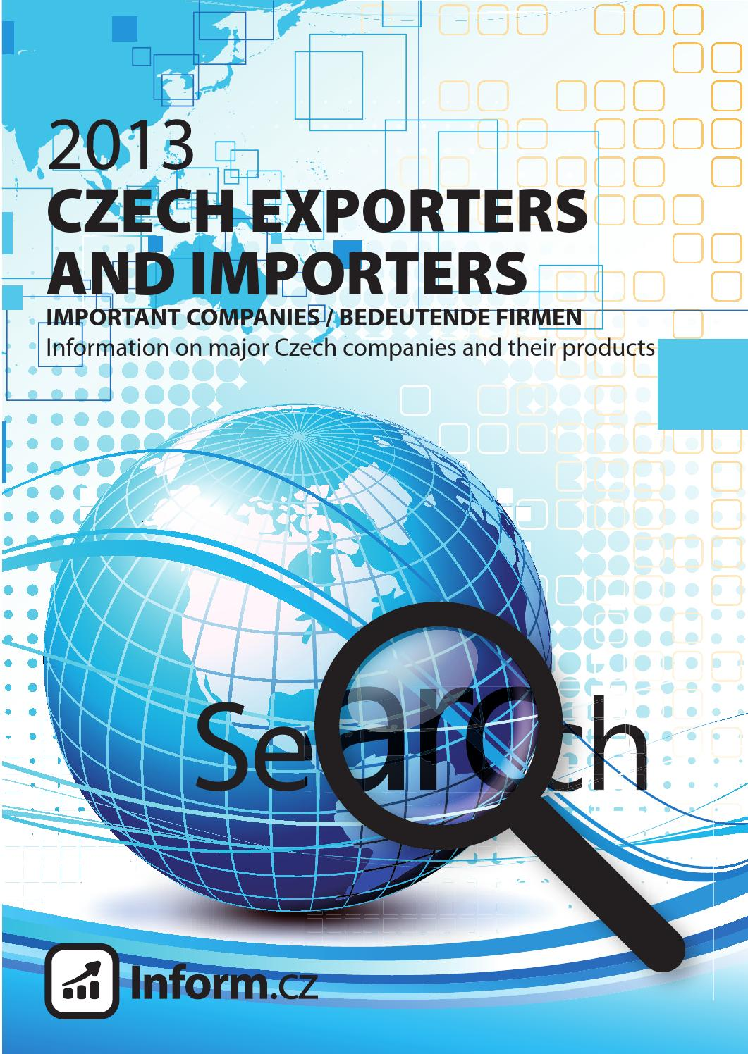 Czech exporters and importers by Mediatel spol. s r.o. - issuu