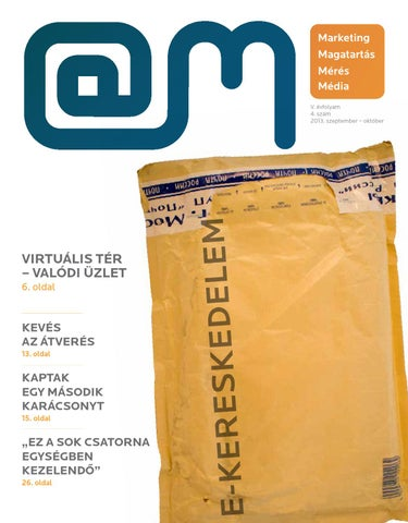 9aaac364cf E-kereskedelem 2013. szeptember-október by Cognit Development Kft ...