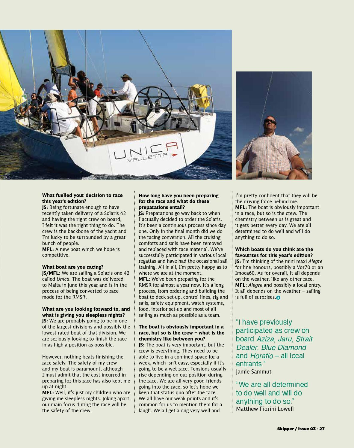 SKIPPER OCTOBER 2013 ISSUE 3 by Be Communications - issuu
