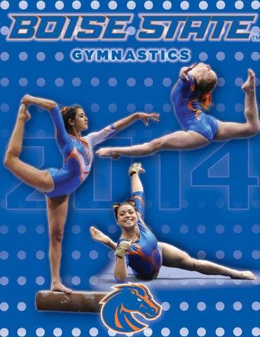 2014 Boise State Gymnastics Media Guide By Boise State University