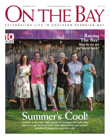 On The Bay Magazine Summer 2013 By
