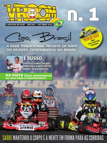 Vroom Kart Brasil  1 - Outubro 2013 by Vroom Kart Brasil - issuu c100ab131d125