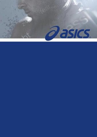 Asics marketing history by Alena Huber Bond issuu