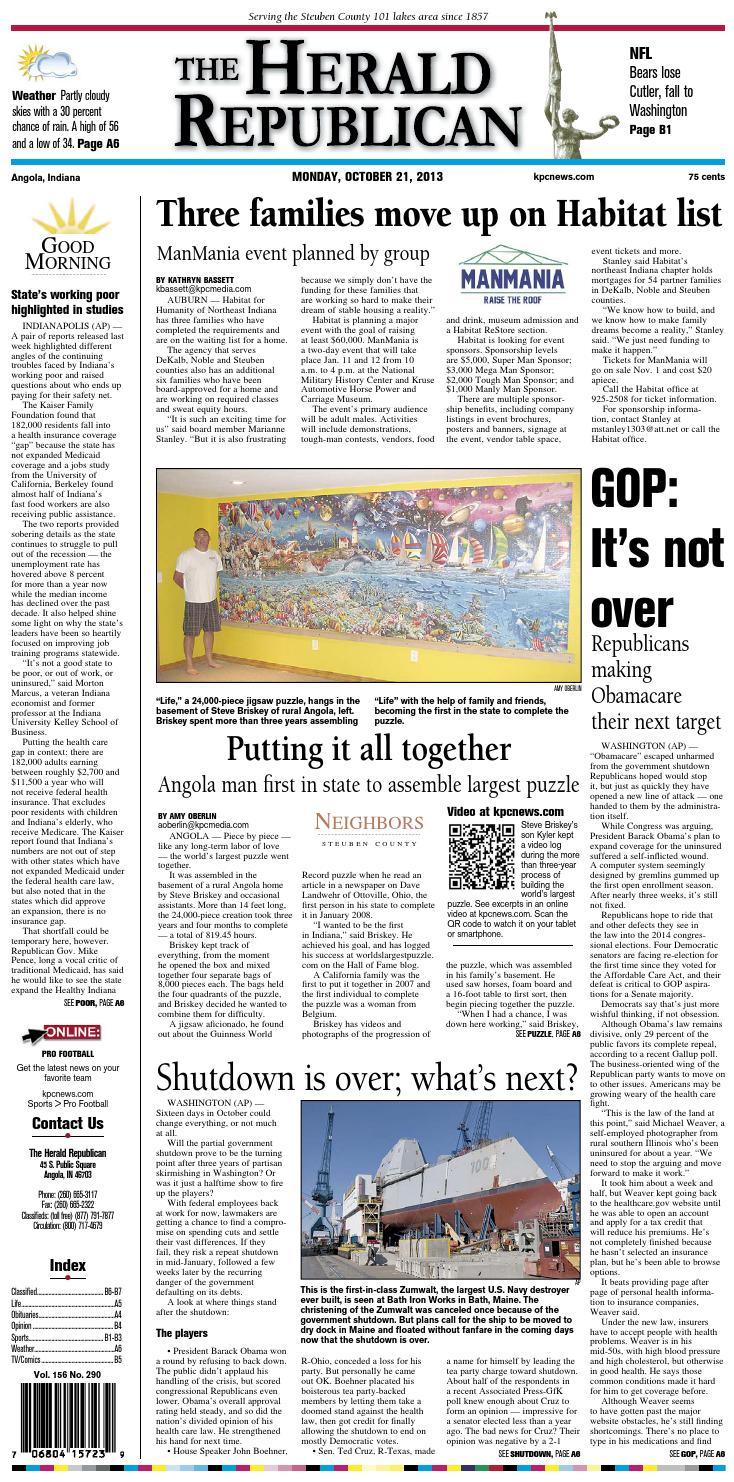The Herald Republican – October 21 20fbbbf8b3d0c