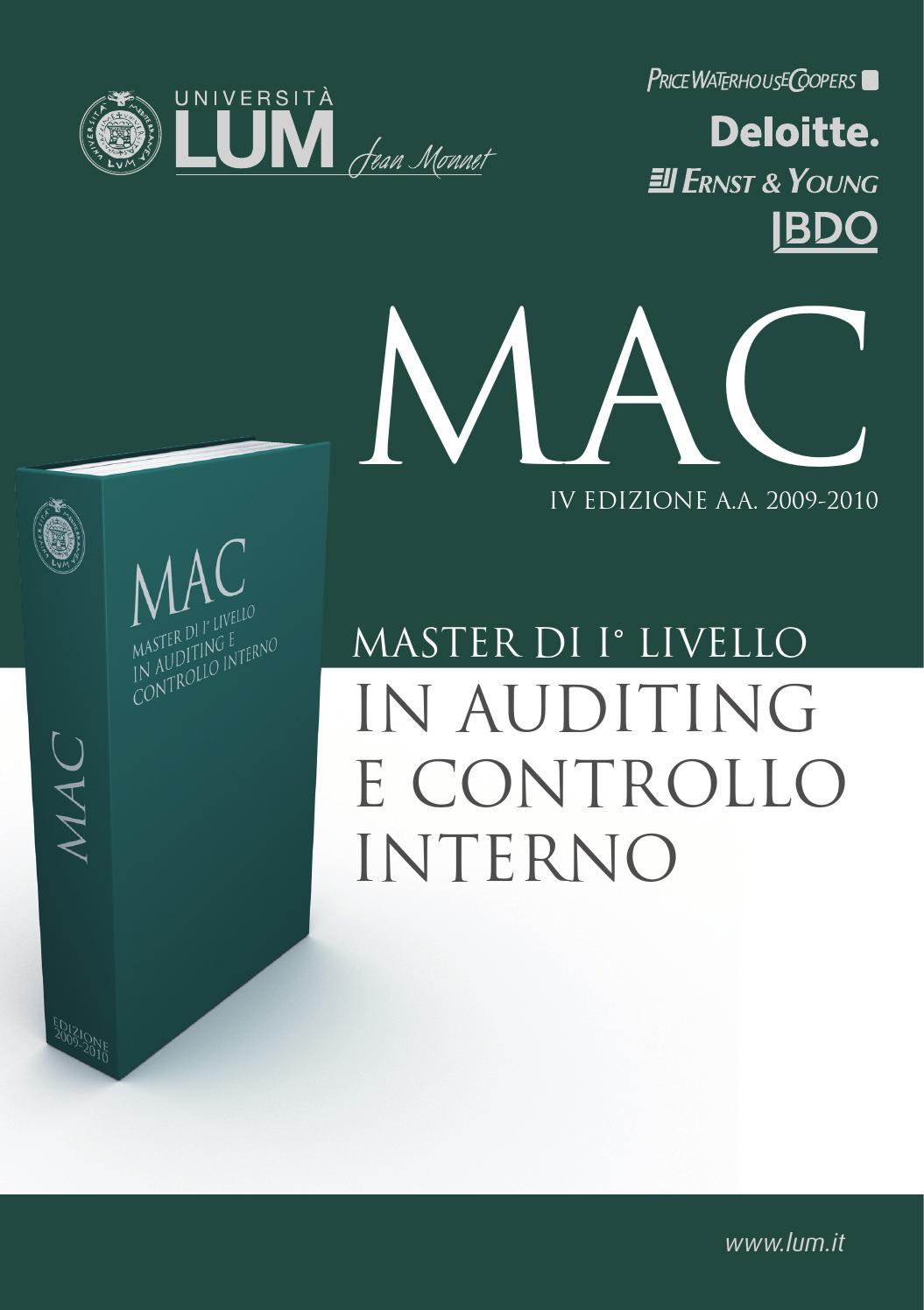 Brochure Mac 2009 By Natalino Milillo Issuu