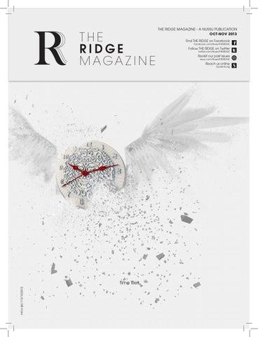 cc3c20a74e5 The RIDGE - Oct-Nov Issue 2013 by THE RIDGE - issuu