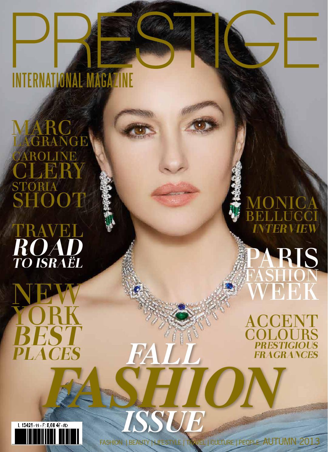 Prestige By 2013 Magazine International Autumn w77qznOF