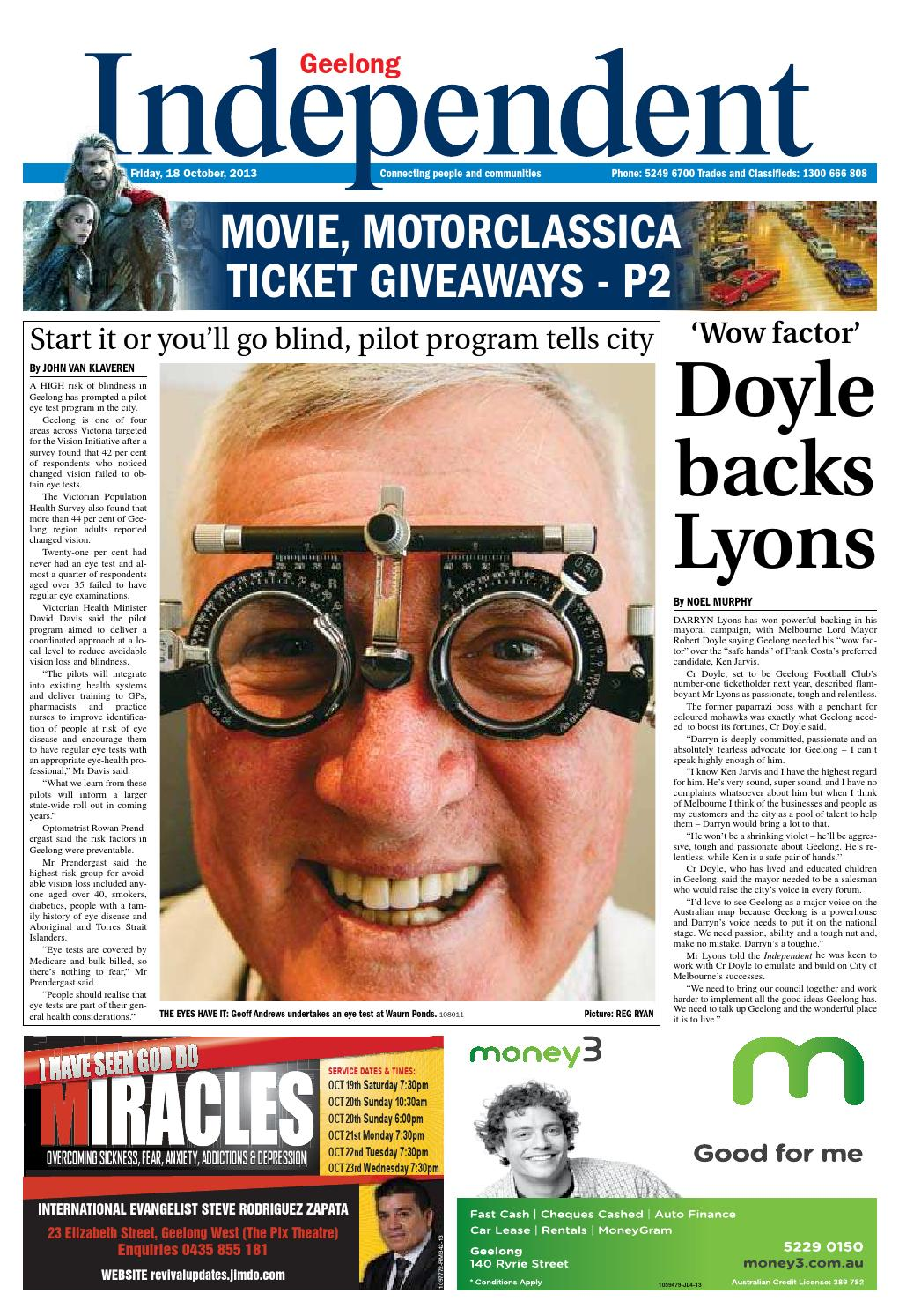 Geelong Independent - 18th October 2013 by Star News Group