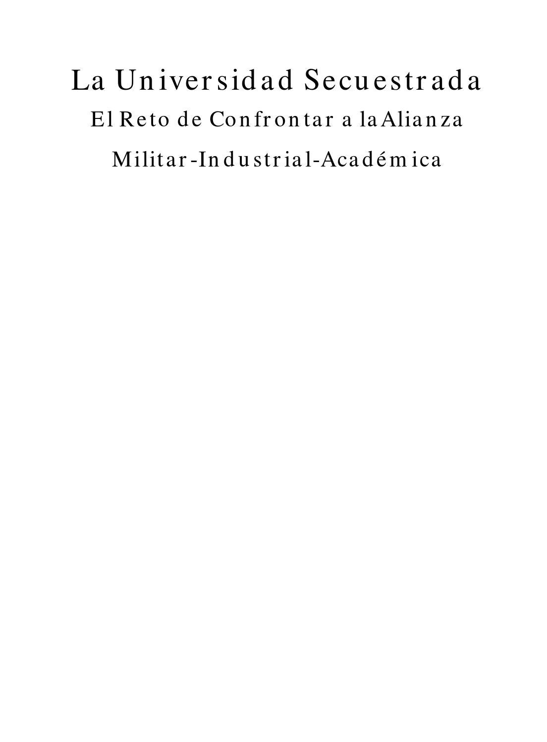 La Universidad Secuestrada by Aceu Medellín - issuu