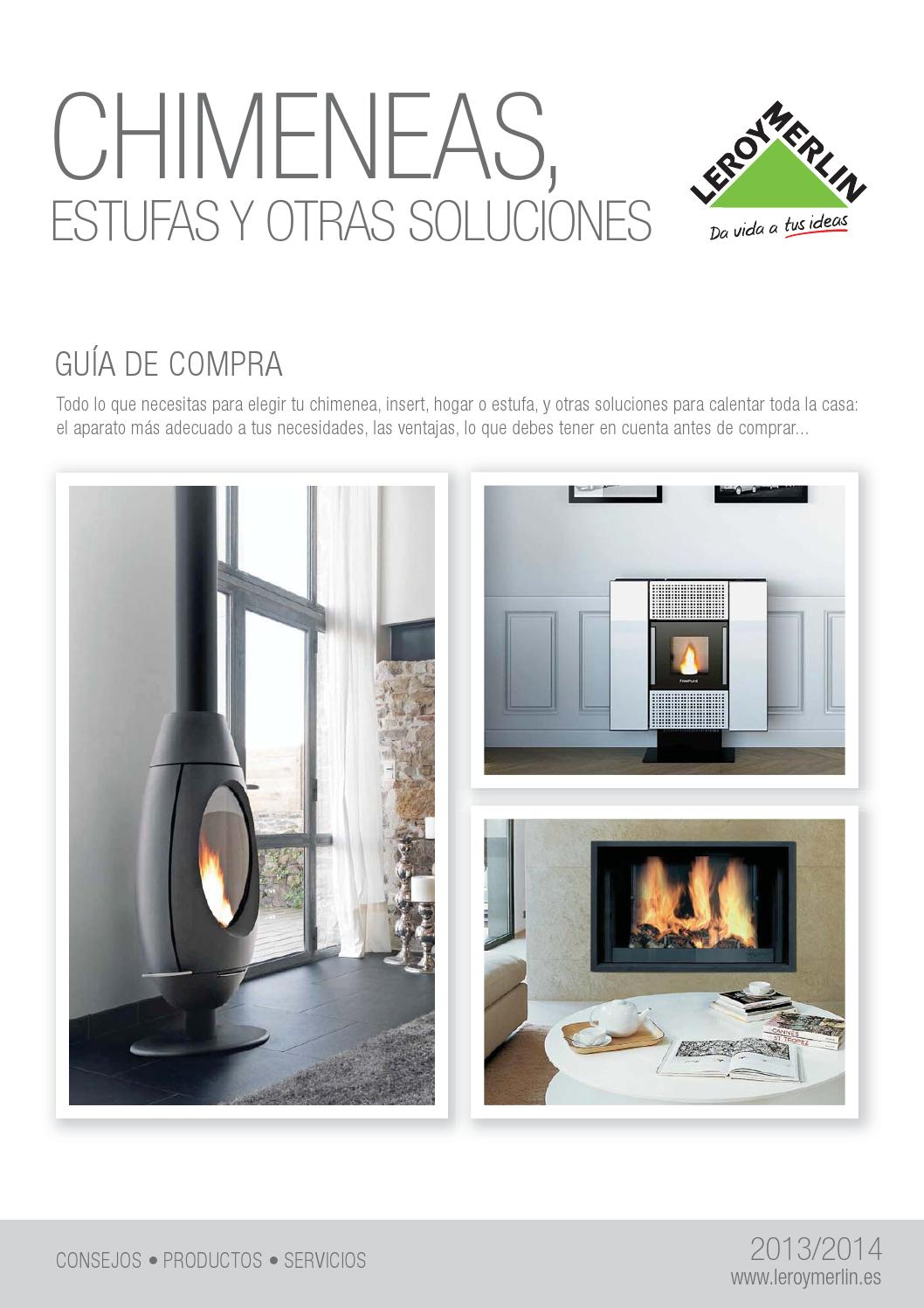Chimeneas leroy merlin by issuu - Chimeneas bioalcohol leroy merlin ...