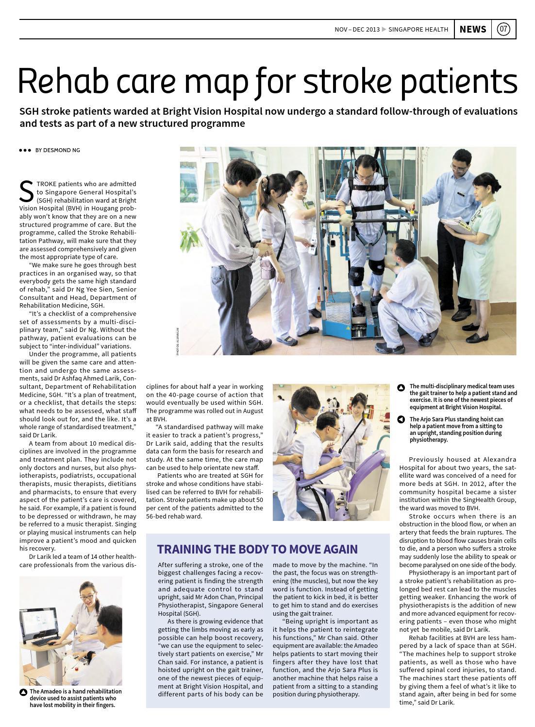 Singapore Health Nov/Dec 2013