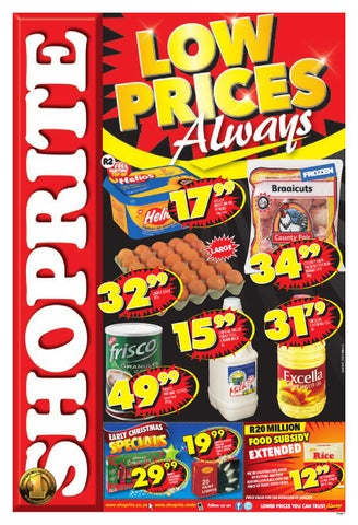 Shoprite S Catalogue Valid Until 3 11 By Broshuri Issuu