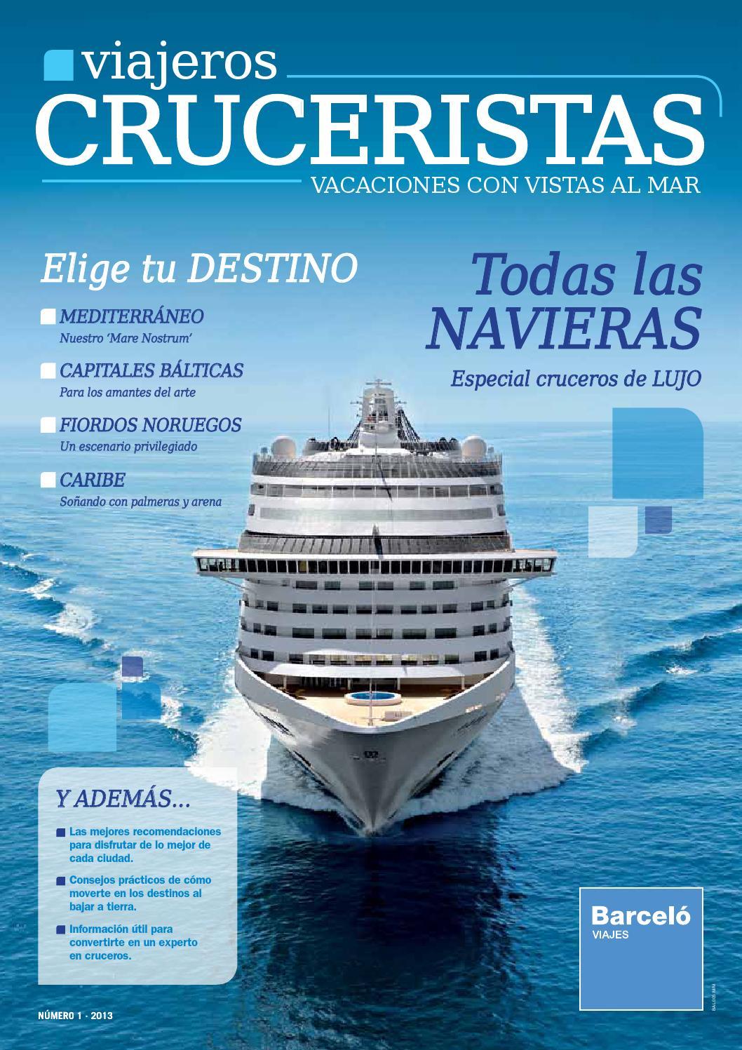 Revista cruceros 2013 by Travelsens - issuu