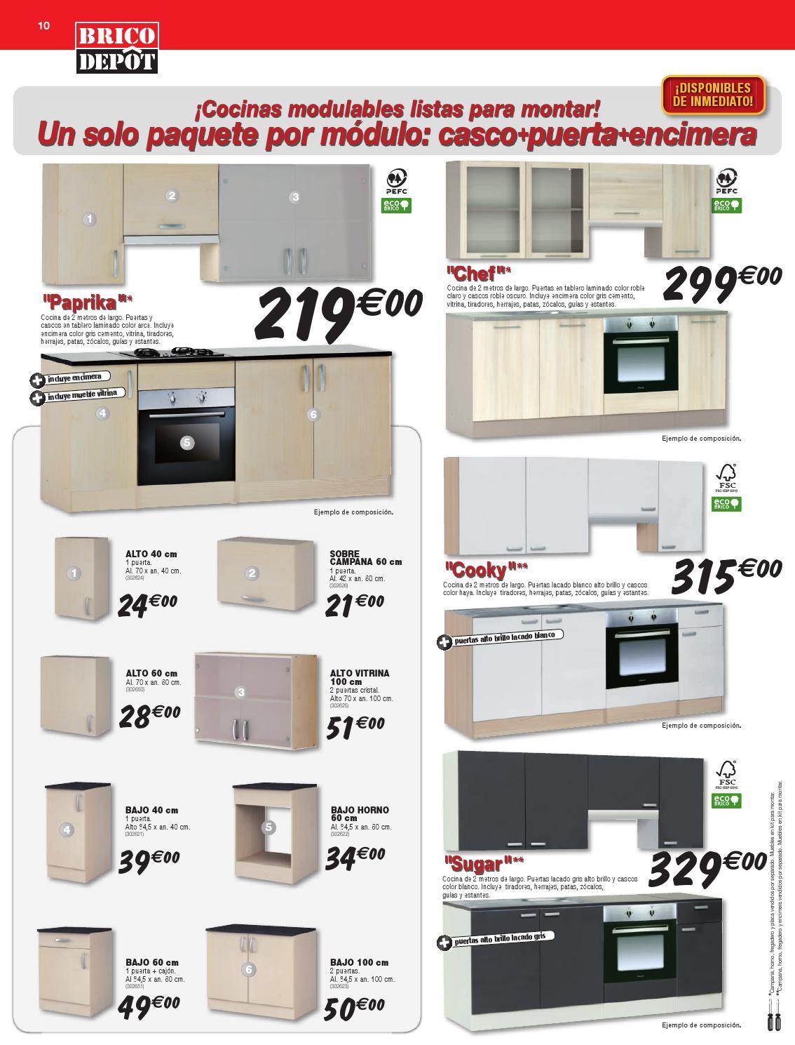 Imilk.info = Muebles De Cocina En Kit Brico Depot ~ Ideas de cocina ...