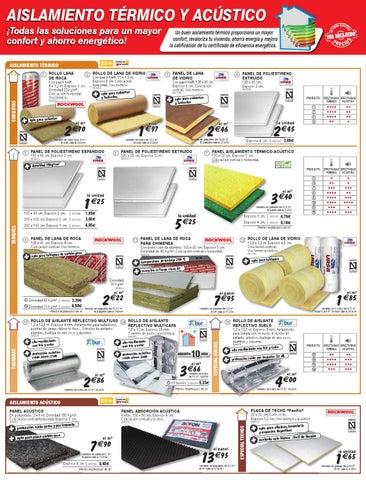 Cat logo y ofertas brico depot v lido 14 11 by broshuri for Placas de poliestireno para techos precios
