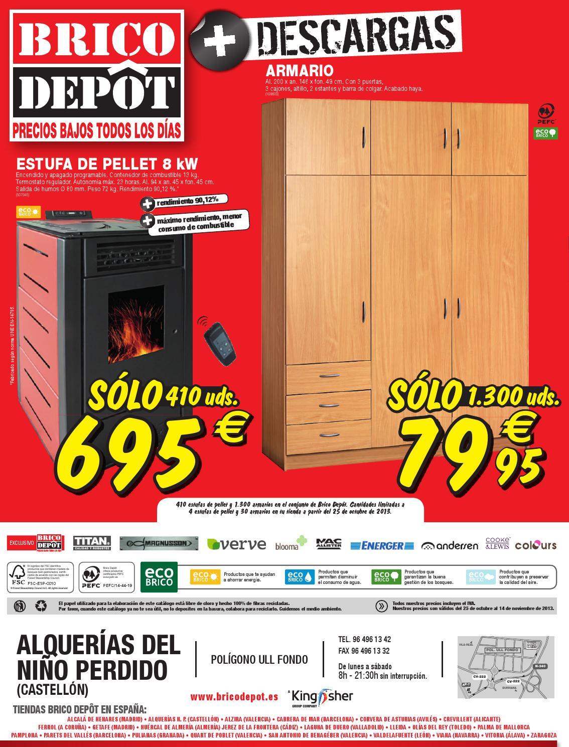 Cat logo y ofertas brico depot v lido 14 11 by broshuri for Bricodepot productos