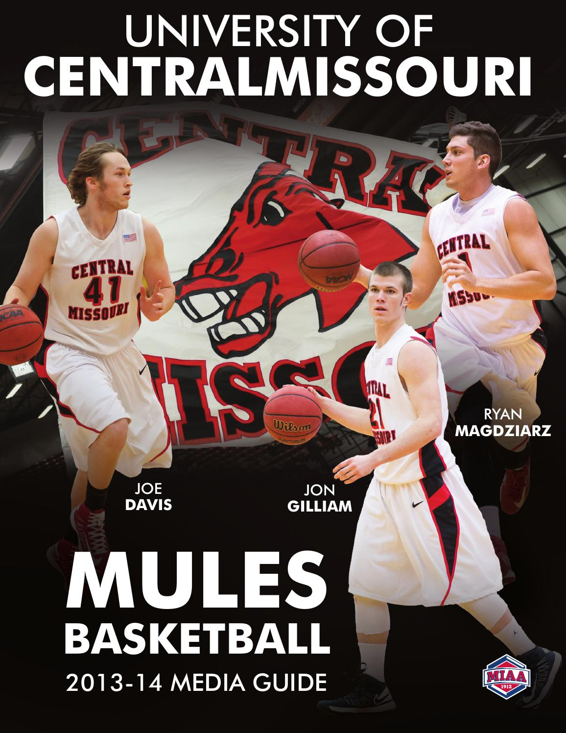 2013-14 Central Missouri Mules Basketball Media Guide by ...