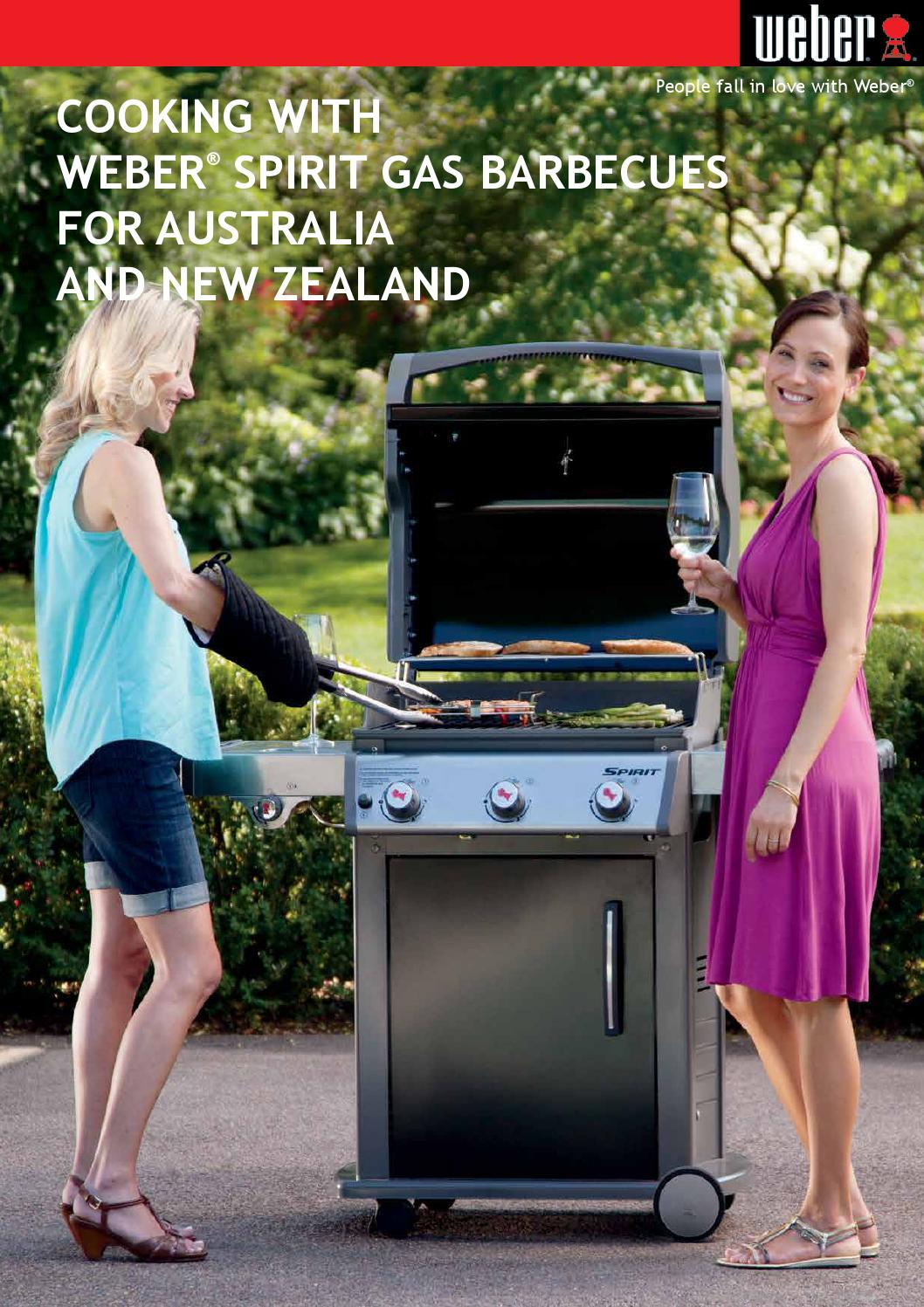 Cooking With Weber Spirit E 320 Gas Barbecues For Australia And New Zealand