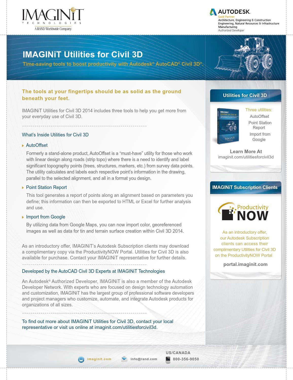 Imaginit utilities civil3d 2014 by Muhammad Haque - issuu