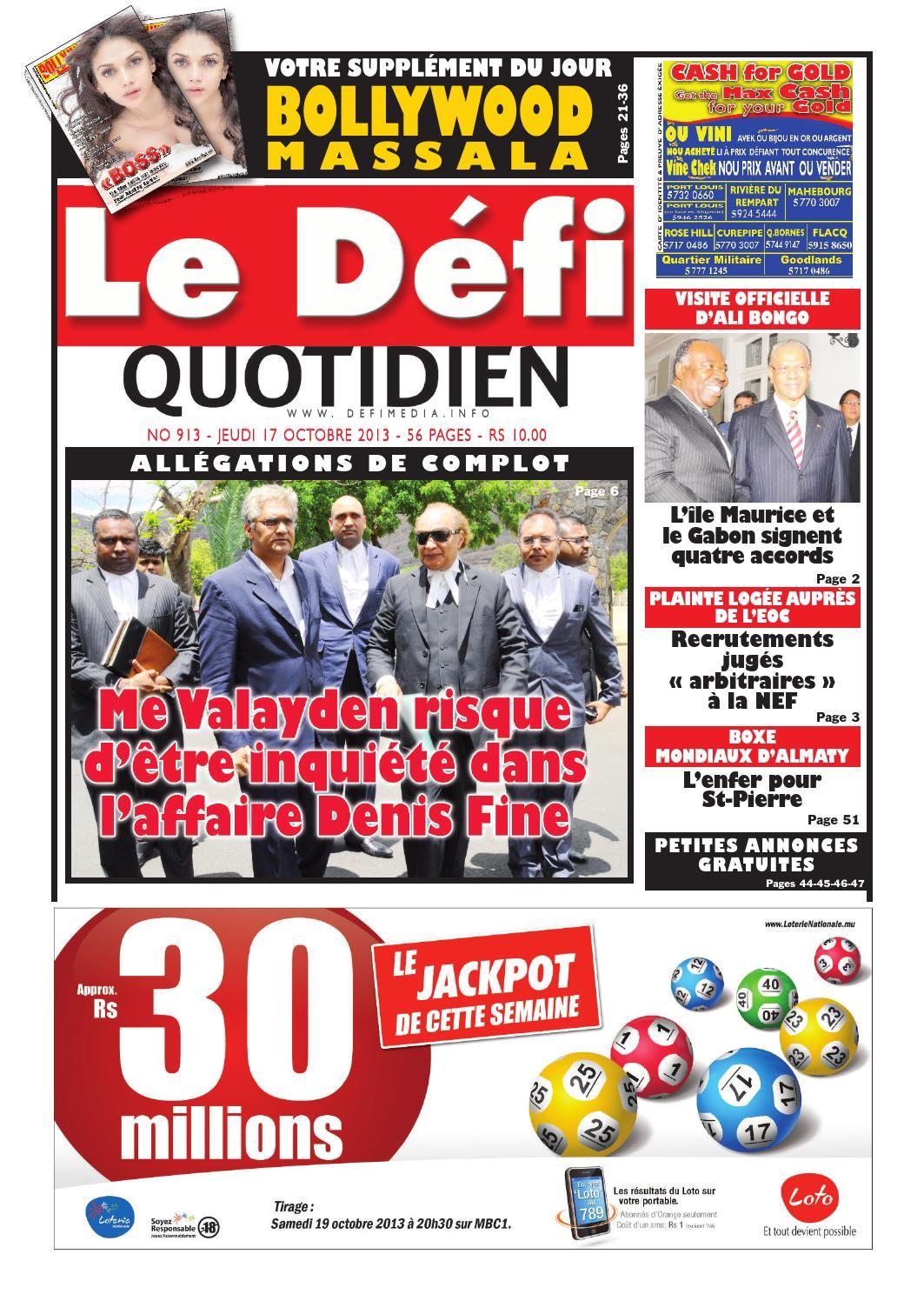 Le Défi Quotidien 913 by Le Défi Media Group - issuu