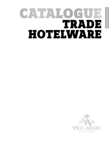 Catalogue VAA Hotelware 2013 by Pulse - issuu