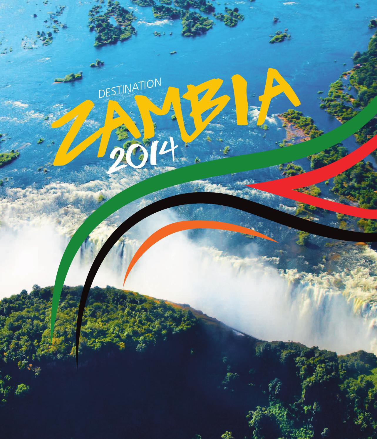 Lusaka Co Zm: Destination Zambia 2014 By Land & Marine Publications Ltd